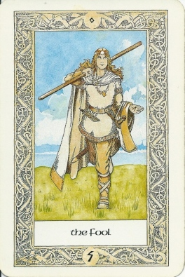 The Fool from the Norse Tarot